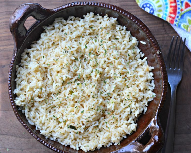 Rice Pilaf ready to eat