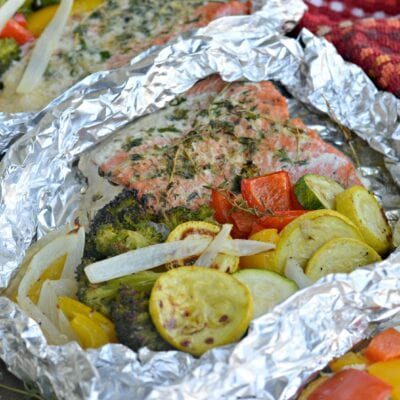 Delicious Grilled Salmon in Foil