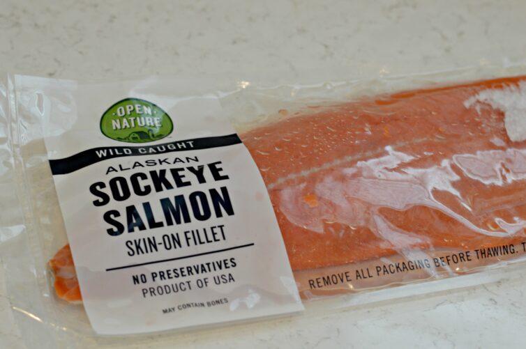 Alaskan Sockeye Salmon Skin-On Fillet