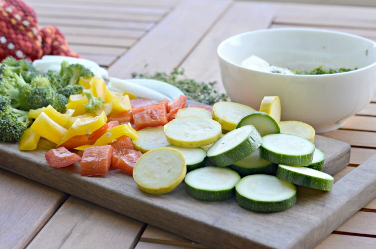 Veggies for the grill