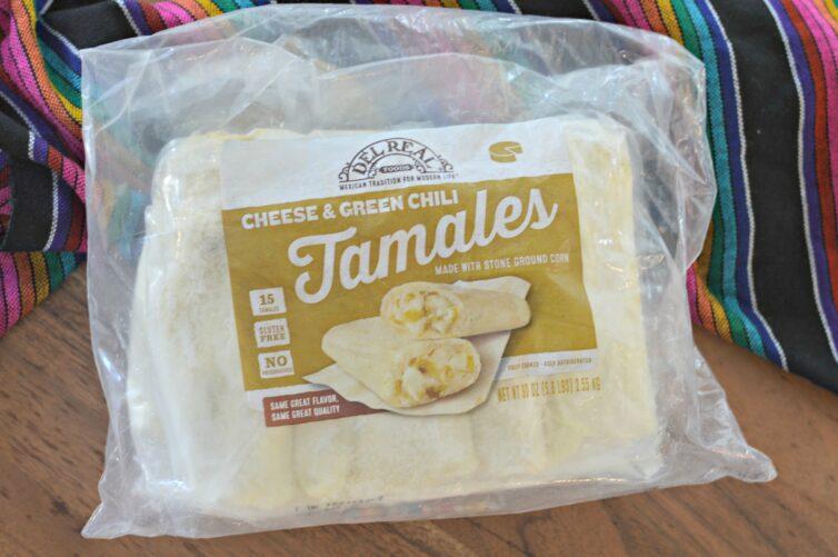Del Real Tamales in packaging