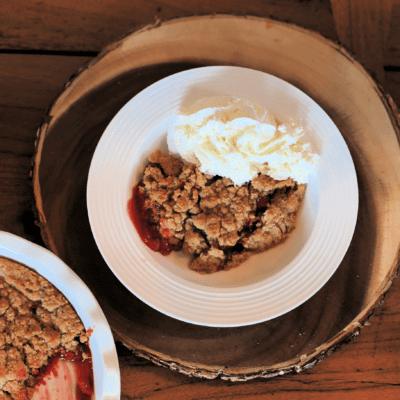 How to Make Cherry Cobbler on a Traeger