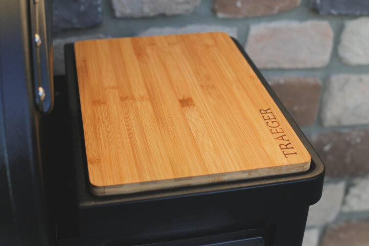 Traeger Grill cutting board