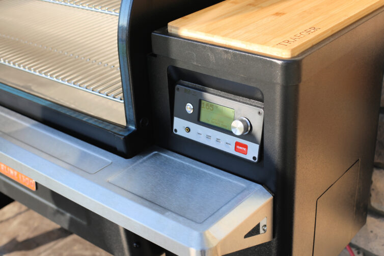 Traeger Wifire technology up close